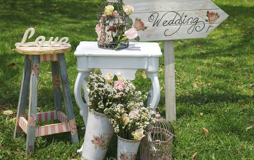 décorer soi-même sa maison pour recevoir un mariage