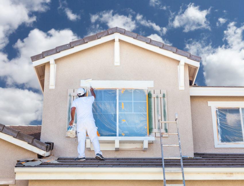 peinture extérieur maison